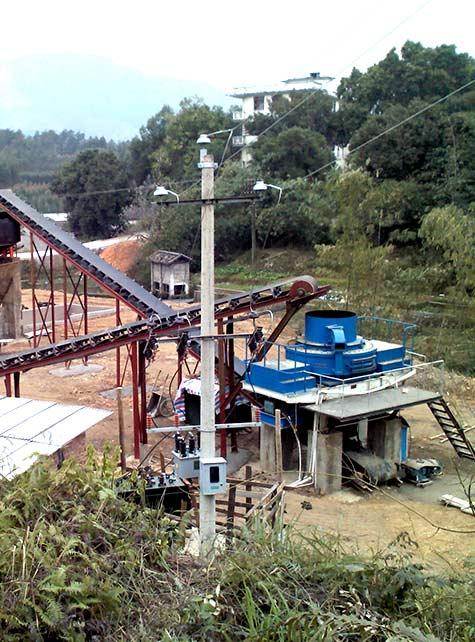 广东河卵石砂石生产线